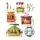 Set of Amusement Park Design Elements
