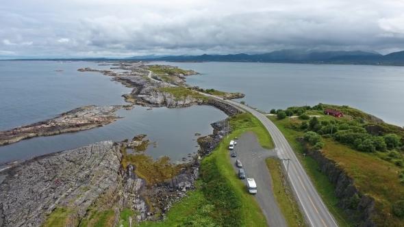 VideoHive Atlantic Ocean Road in Norway 19126560