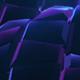 Purple Cubes Waves