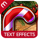 Premium Christmas Text Effects Vol.1-Graphicriver中文最全的素材分享平台