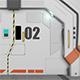 Sci Fi Door Opening Animation