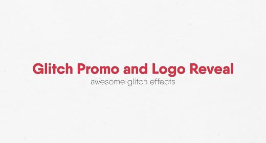 Glitch Promo and Logo Reveal