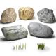 Stones & grass