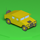 Low poly Humvee