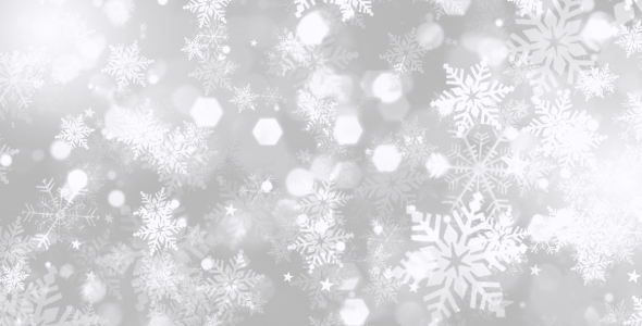 Christmas Snowflakes Background By Motionhive Videohive