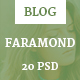 Faramond - Creative Blog Template
