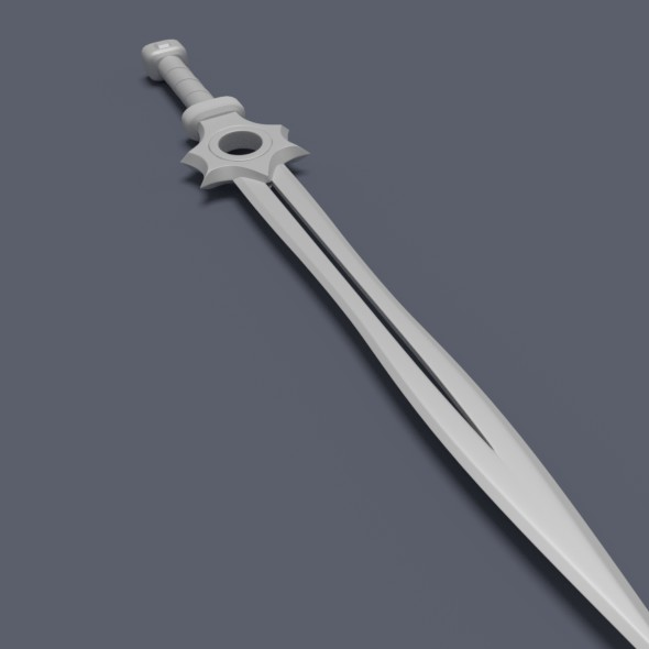 3DOcean sword 19131083
