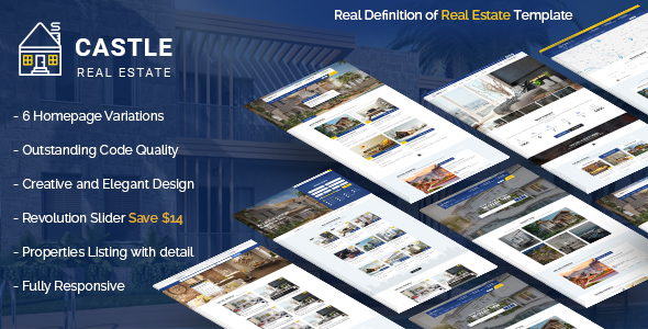 Castle - Real Estate Template