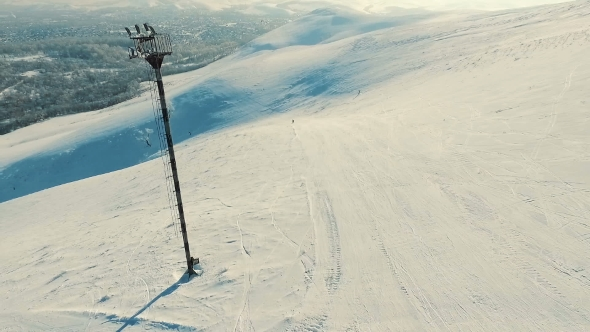VideoHive Flight for Snowboarders 19135953