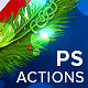 Christmas Lights - Photoshop Action-Graphicriver中文最全的素材分享平台