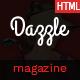 Dazzle – Viral Content / Magazine HTML Template