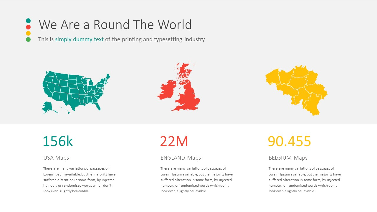 USA Map For PowerPoint Keynote Presentation Shop US Map Template - Us map outline for powerpoint