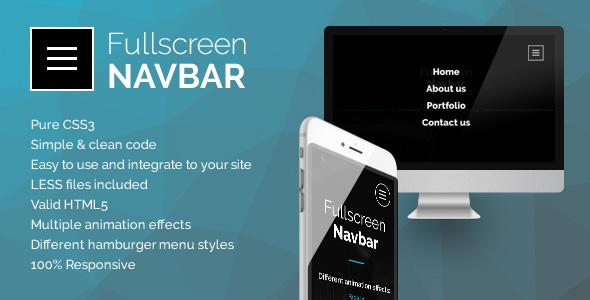 Download Fullscreen Navbar nulled download