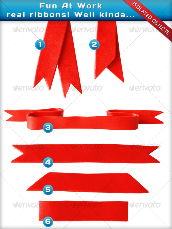 GraphicRiver Fun at Work Ribbons 70051