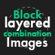 Block Layered Combination Images