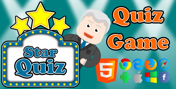 Star Quiz - HTML5 Game