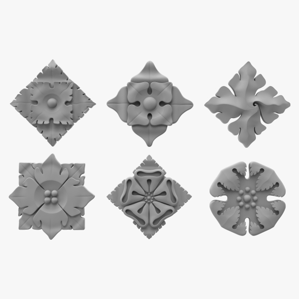 Architectural Ornament vol. 01 - 3DOcean Item for Sale