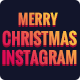 Instagram Merry Christmas Banners Ad - 08 PSD