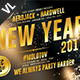 New Year Party Poster / Flyer V18