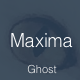 Maxima - Minimal Blog & Magazine Ghost Theme