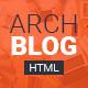 Archblog - Architecture Portfolio and Blog HTML template