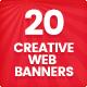 Creative Web Banners - Vol. 1