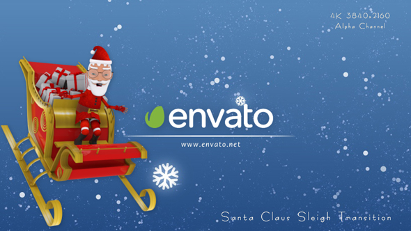 Download Santa Claus Sleigh Transition nulled download