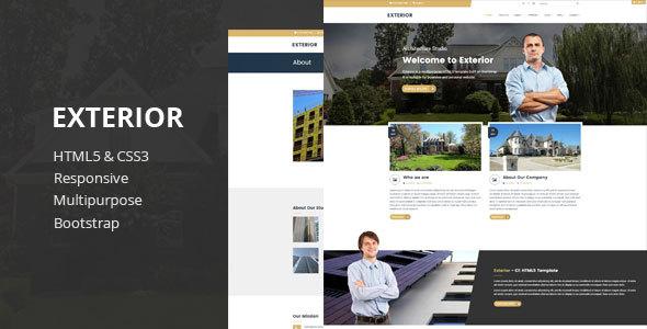 Download Exterior - Multipurpose HTML5 Template