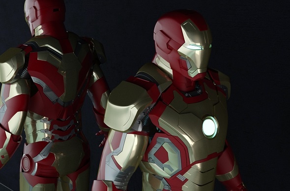 IRON MAN Whole Body - 3DOcean Item for Sale