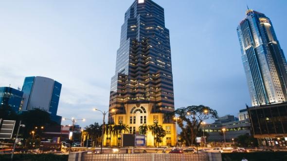 VideoHive Skyscraper in Kuala Lumpur 19147098