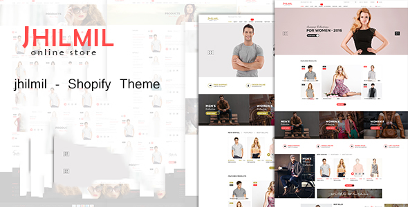 Download Jhilmil - Responsive Shopify Theme nulled download