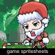 Mr. Santa Claus Sprite Character