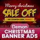 Christmas Banner HTML5 - Animate