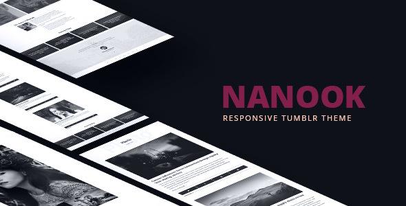Nanook - Responsive Tumblr Portfolio Theme