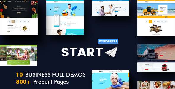 Start - Multiuse Business WordPress Theme