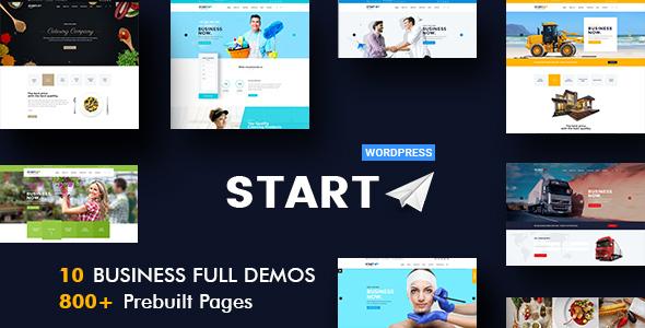 Start - Multiuse Business WordPress Theme