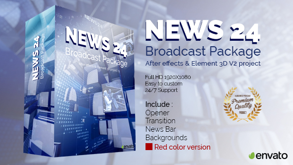 Download News 24 Broadcast Package nulled download