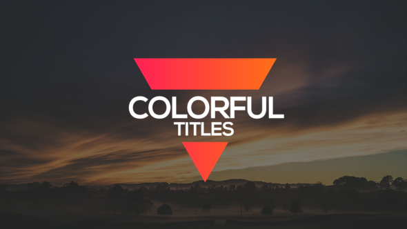 Download Colorful Titles nulled download