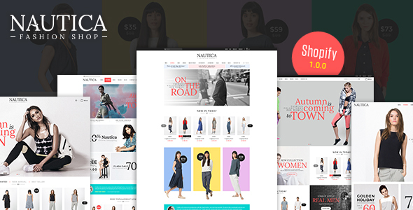 Download Nautica - Multi Store Responsive Shopify Theme nulled download