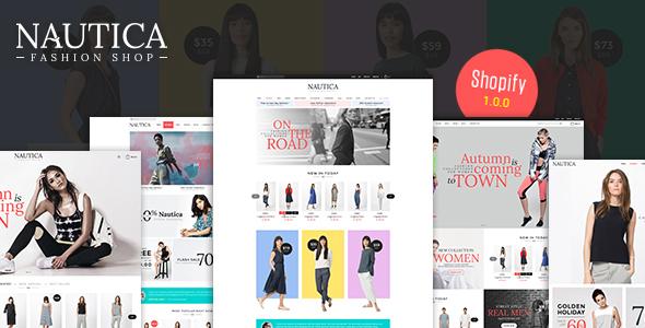 Nautica - Multi Store Responsive Shopify Theme