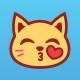 Cute Kitty Emoticon