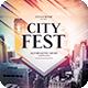 City Fest CD Cover Artwork