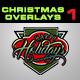 24 Christmas Photo Overlays Vol.1
