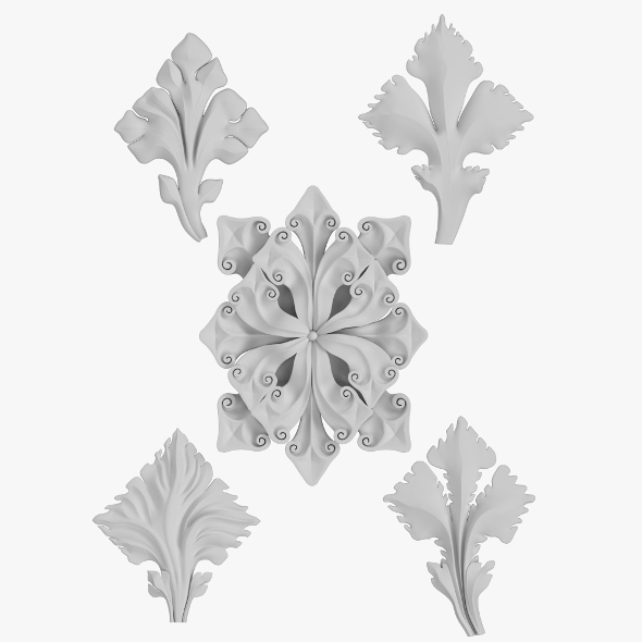Architectural Ornament vol 02 - 3DOcean Item for Sale
