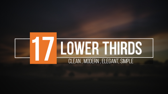free lower third templates motion - lower thirds corporate envato videohive after