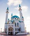 The Qol Sharif Mosque  in Kazan Kremlin. Tatarstan, Russia. Kul