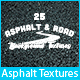 25 Asphalt & Road Background Textures