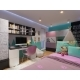 3D Render of Interior Design Children's Room