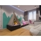 3d Render of Interior Design Children's Room