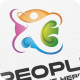 Colorful People - Logo Template